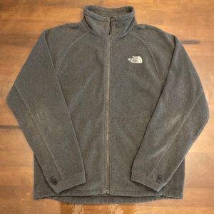 The North Face Gray Fleece Jacket Men's Medium